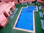 piscine vue d'en haut