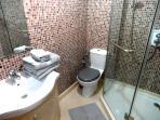 la deuxième salle d'eau