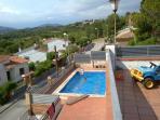 Casa aislada con piscina y vistas a Montserrat