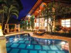 Villa Kawan at Night