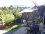 Terraza, Casa Y Teide