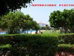 Vista parcial piscina olimpica