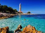 Lighthouse at Veli Rat