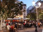 Restaurants, bars, centre ville
