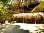 Casa Yamulkan facing the beach.