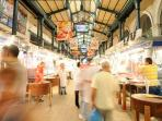 Varvakeios Market - The main market of the city. Only 4 minutes away!