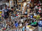 Monastiraki Flea Market. Only 2 minutes away!