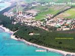 panoramica della zona turistica La Mazzanta