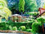 Tiered Gardens & summer house