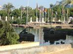 Park of the Nations in Torrevieja Town