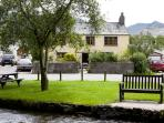 Village cottage, log fire,stream,ducks-BrookHouse1