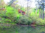 View of home from Fairfield Lake