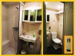 En-suite bathroom/shower