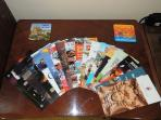 Attraction brochures.