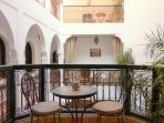 Balcon de la habitacion Suite Itran
