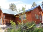 Experience a relaxing vacation in this charming home located in Pagosa Springs.