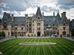 Visit the Biltmore Mansion in Asheville! Go to the drive thru farmers market and the zoo too!