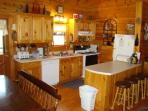 Everything AND the kitchen sink awaits you for your relaxation and convenience