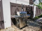 Backyard gas grill