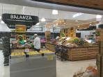 A view of the wide selection of food inside the Lindo Supermarket.