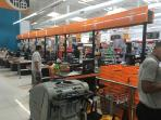 View of the interior of Super Pola.  Great grocery stores make life in LT very easy!