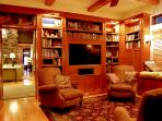 Library -Media Room with sound surround theatre