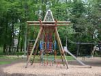 The new addition to the adventure playground at Drumlanrig Castle.