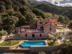 Villa Fabrica at the day.