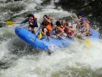 White water rafting Three Valleys