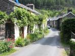 Beautful old Corris ...offering unsurpassed walks