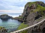 Beautiful Carrick a rede rope bridge 10 minutes away