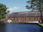 Famous Bushmills Distillery 5 minutes walk