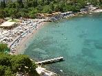 Main Lapad sand beach