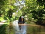 Monmouthshire and Brecon Canal - our visitors have spotted otters here.