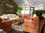 Conservatory with seating for 10.