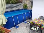 Large swimming pool..