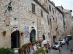 Facciata di Ma Maison Assisi
