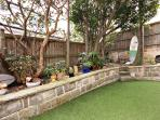 Enclosed backyard