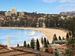 View to Manly beach