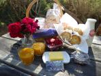 Complimentary Breakfast Hamper for the 1st night of your stay