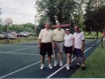 Lighted Tennis/basketball court