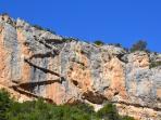 Escalera Congost de Mont-Rebei