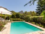 Large pool with views to Lions Head