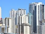 Views fromt unit of Downtown Panama Just outstanding