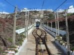 Funiculaire reliant le quartier haut du Sitio au quartier bas de Nazaré
