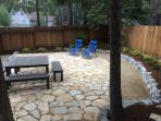 New backyard with big picnic table (sits 12)