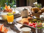 Breakfast at Villa Vanna Sedi