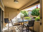 Dining on Double Patio (bar-height)
