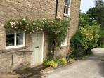 Self contained two bedroom property located on the edge of Peak district. Sleeps 5 plus infant.