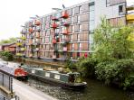Building Facade on Regents Canal